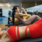Esercizi addominali donne