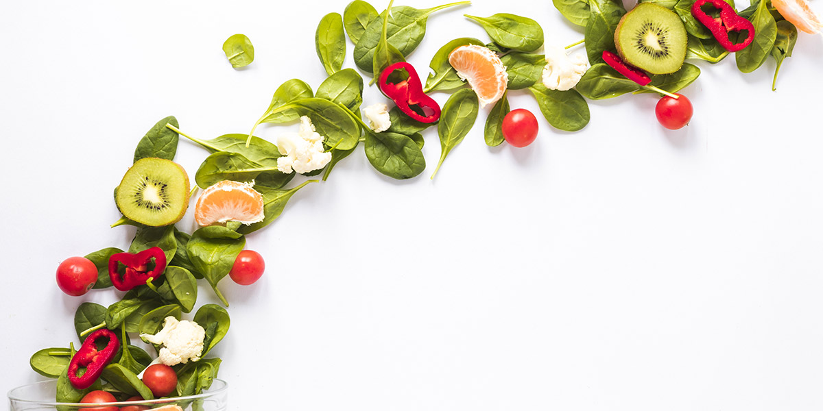 dieta mediterranea, i benefici di frutta e verdura