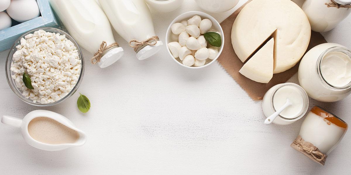 dieta mediterranea, latticini