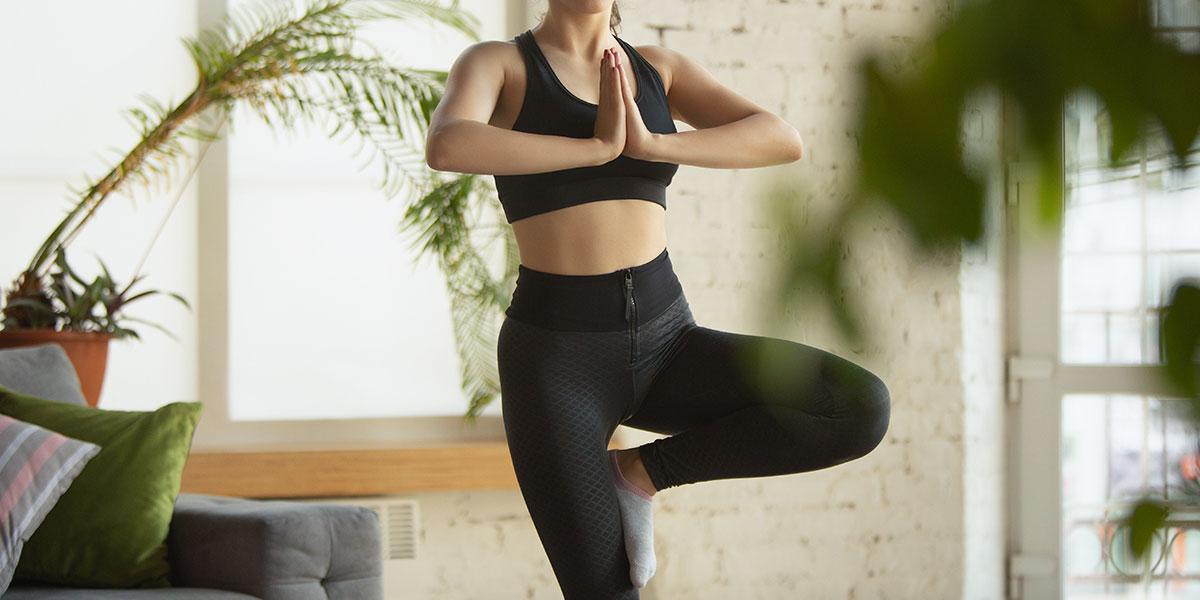hatha yoga, posizione dell'albero