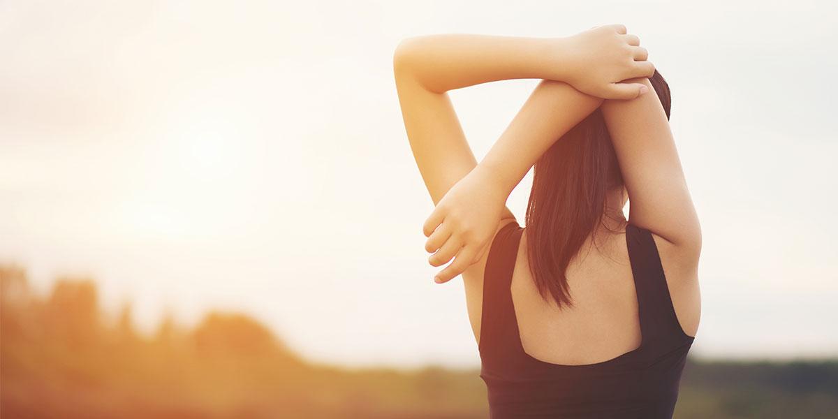 riscaldamento braccia