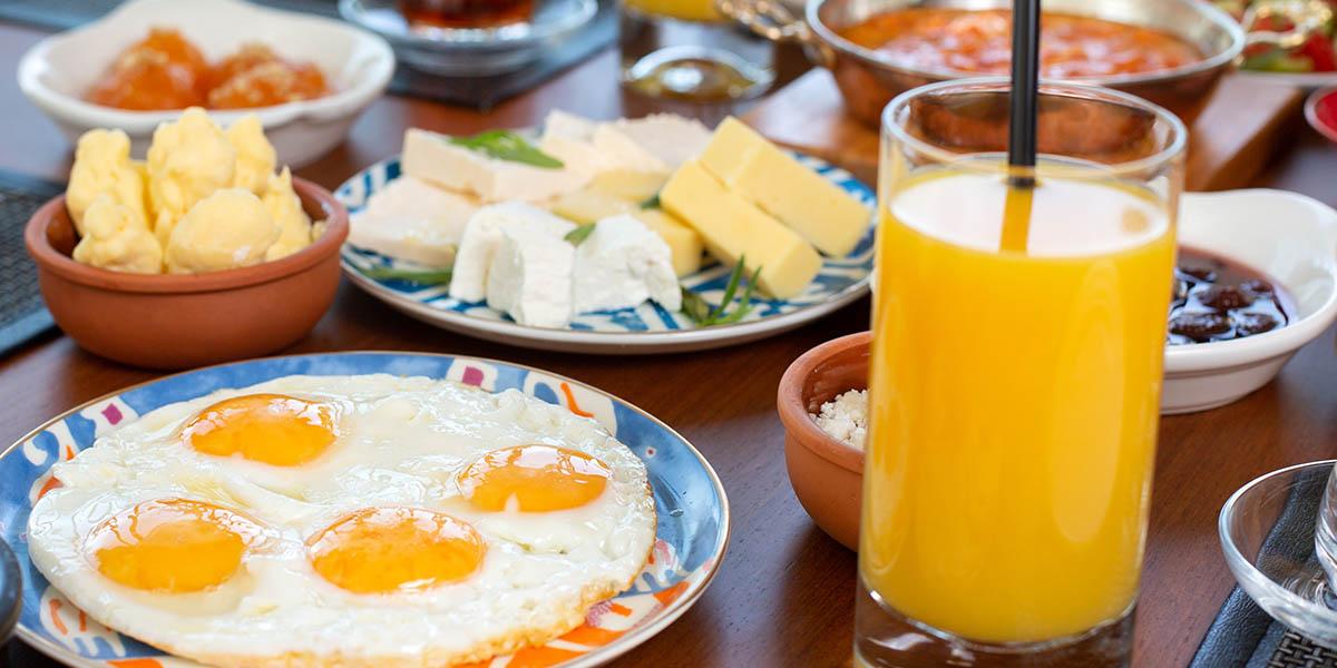 colazione sana salata